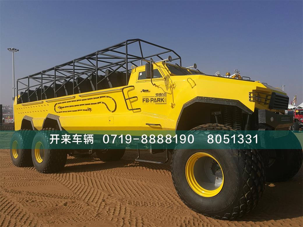六驱沙漠观光车