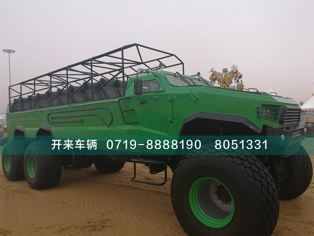 六驱沙漠车