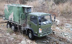 平头EQ2082G六驱越野车路测—湖北yabovip08车辆科技