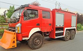 四驱六驱越野消防车技术参考