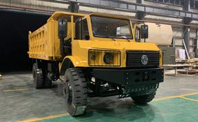 4x4越野翻斗式矿车 山矿里的战斗机